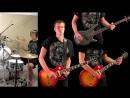 Anastasia Slash Guitar Bass Drum Cover