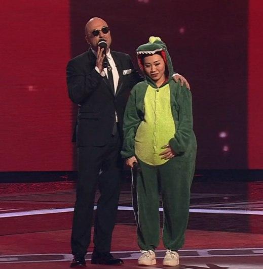 Ян Гэ на финале шоу Голос 2017