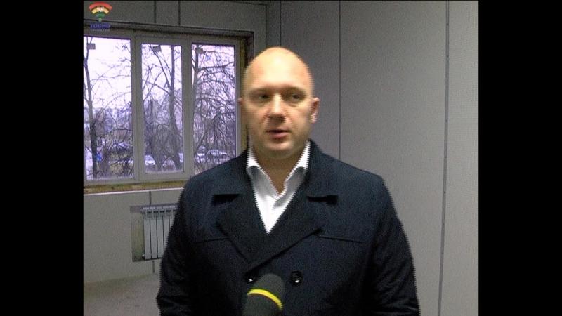Евгений Саунин рассказывает о том, как проходят ремонтные работы в здании отдела МВД г.Тосно