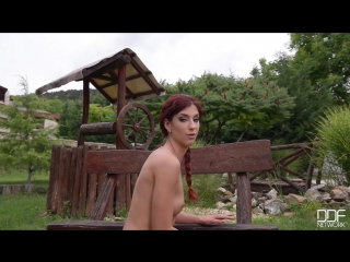 Shona river (outdoor orgasm) solo, natural boobs, small boobs, masturbation, anal toys, glass butt plugs, outdoors