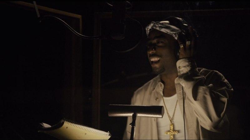 2Pac в студии чёткий двойник Голос улиц 2015 сцена 10 10 HD