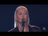 "Christina Aguilera, Whitney Houston Tribute at America Music Awards ""AMAs"" 2017"