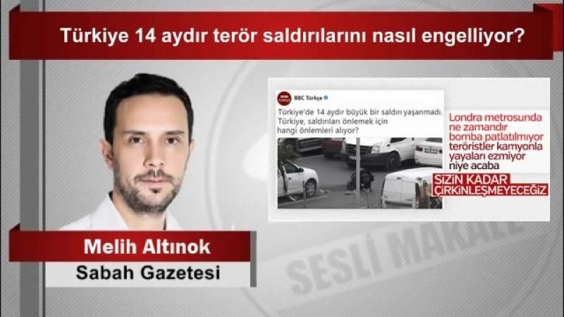 Melih Altınok Türkiye 14 aydır terör saldırılarını nasıl engelliyor - YouTube