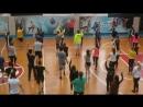 Разминка на уроке физкультуры в ИГХТУ