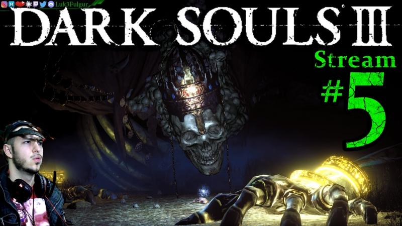 Dark Souls 3 🌲👺🧙1st Time👻🎮Pro👑All DLC💸PC💻Max Graphics✨5th Stream🎋
