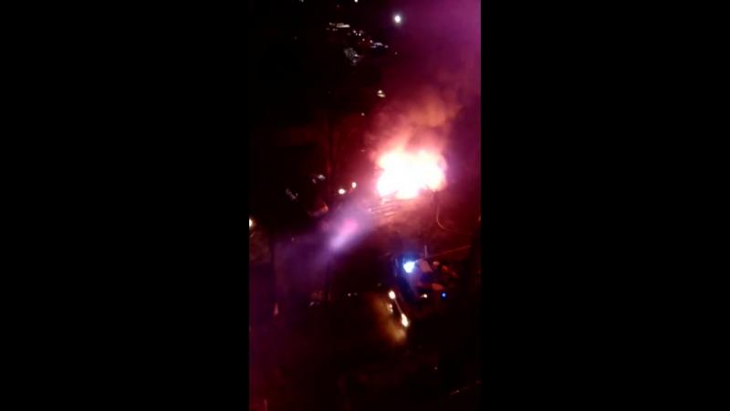 Генерала Лизюкова сгорели авто11.12.2017