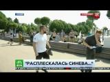 Пьяный Десантник ударил корреспондента НТВ в прямом эфире