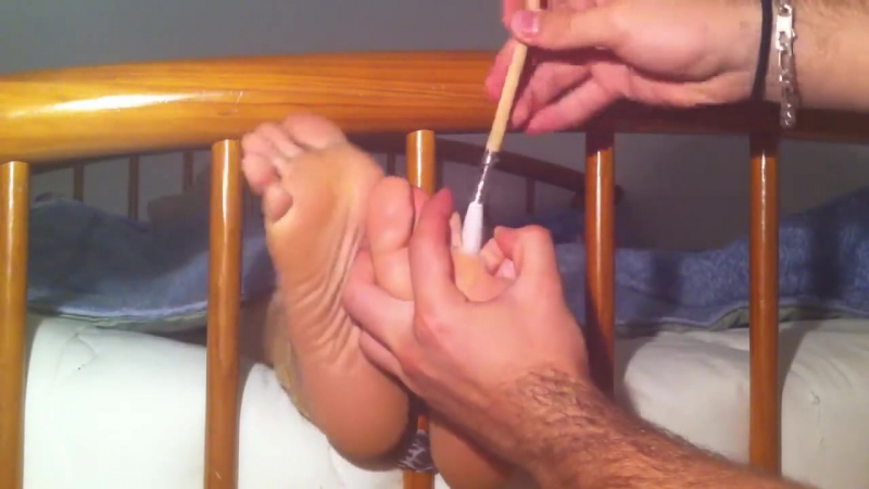 POV-Female Soles Tickling