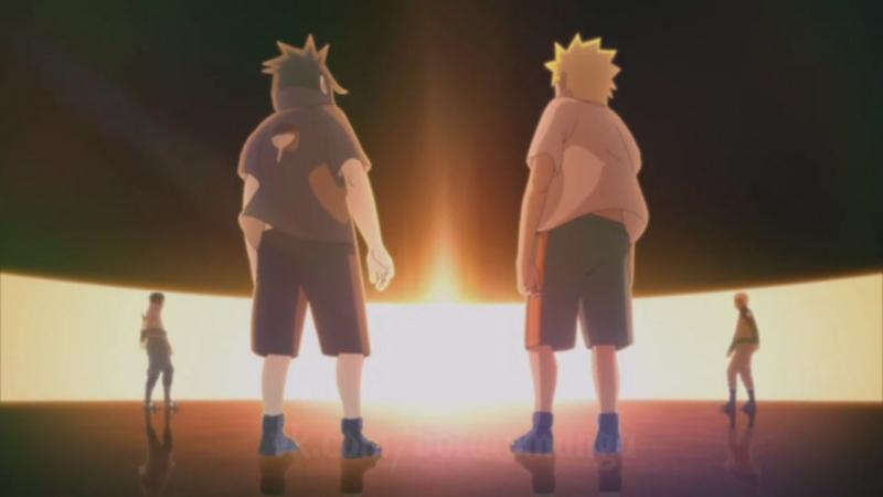 [БЕЗ ТИТРОВ] Naruto Shippuuden Ending 38 Наруто Шипуден Эндинг Ураганные Хроники Версия 2 SasuNaru
