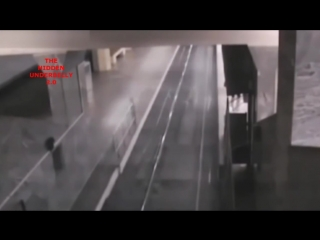 Ghost train caught on cctv at baotou railway station, china.mp4