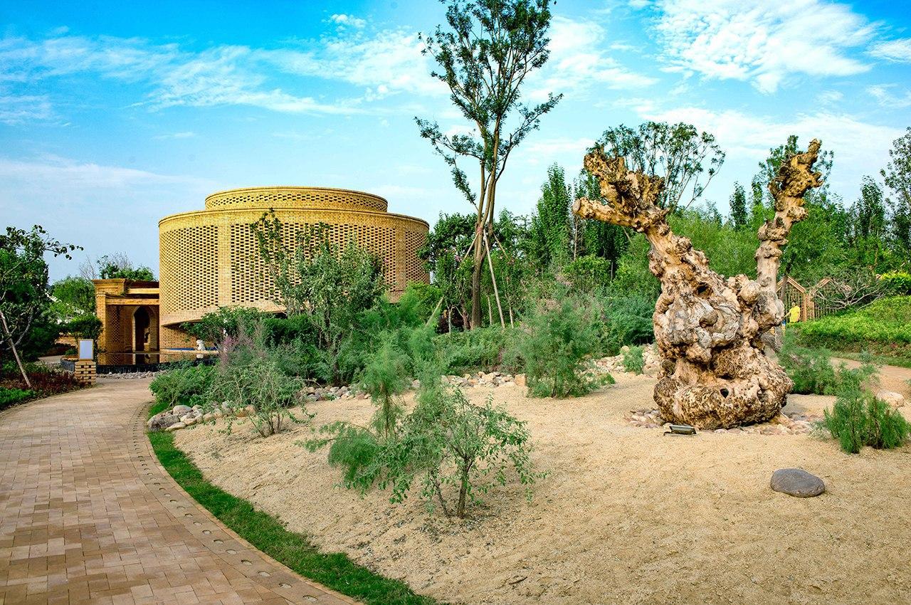 2017 China International Horticultural Expo Urumqi Garden / Lab D H