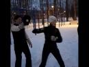 Мозаика тренировки бойцовского клуба в Питере. 6.30 утра