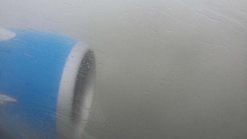 Пасадка самолета Москва-Махачкала .