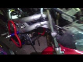 Про заслонку карбюратора Honda XR400R и про Suzuki SV400