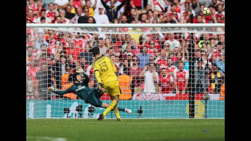 Arsenal 1 (3) x (1) 1 Chelsea - Highlights (FA Community Shield 2017)