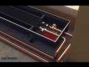 Монтаж напольного водяного конвектора отопления mp4 360