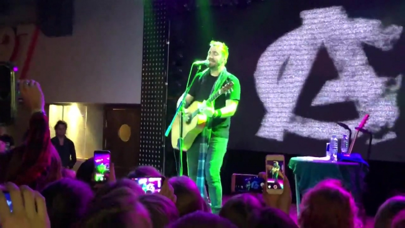 Adam Gontier - Gone Forever / Breaking The Habit (Linkin Park cover) (Russia, Ufa, Music Hall 27 22-11-2017)