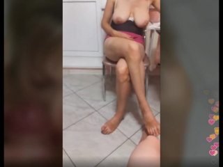 Зрелой замужней женщине дал в рот, солидная дама показывает киску