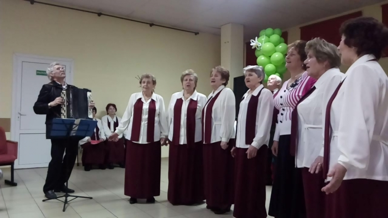Концерт За любимую Беларусь - Народный хор ветеранов труда 18.02.2018