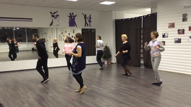 Джайв женская группа Студия бального танца Давайте потанцуем
