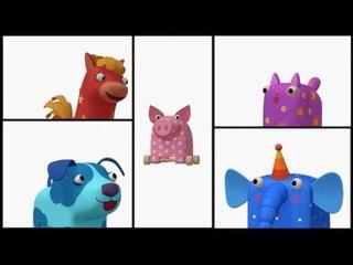 Деревяшки - Ку-Ку - Серия 22 - развивающие мультики для самых маленьких