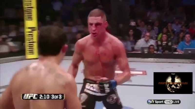 Бешеные рубки в ММА и UFC.