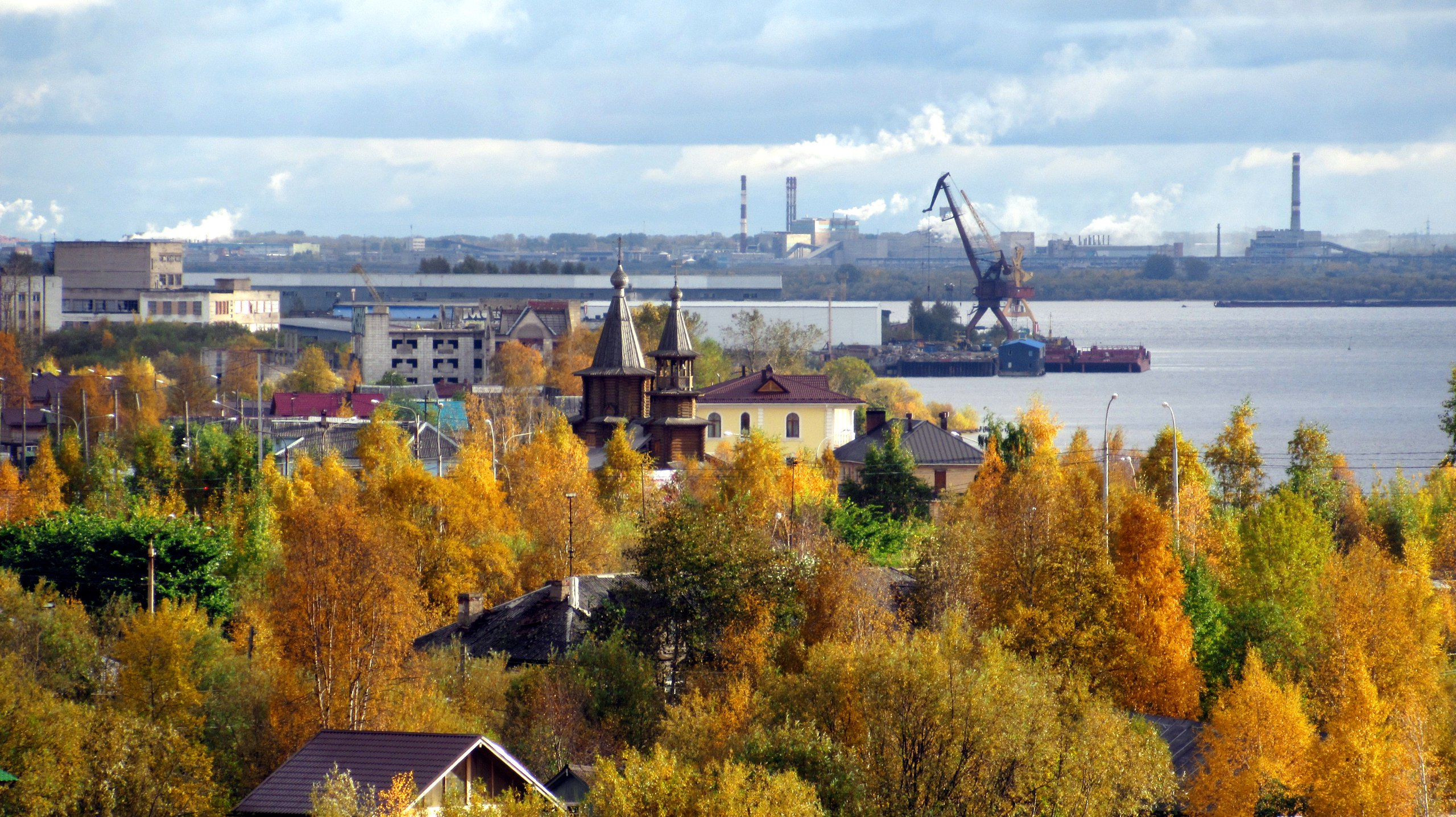Архангельская осень