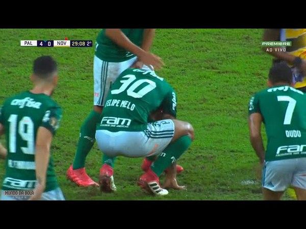 Felipe Mello perde pênalti no jogo contra o novorizontino