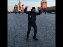 Kilev @ Moscow Red Square happydancing