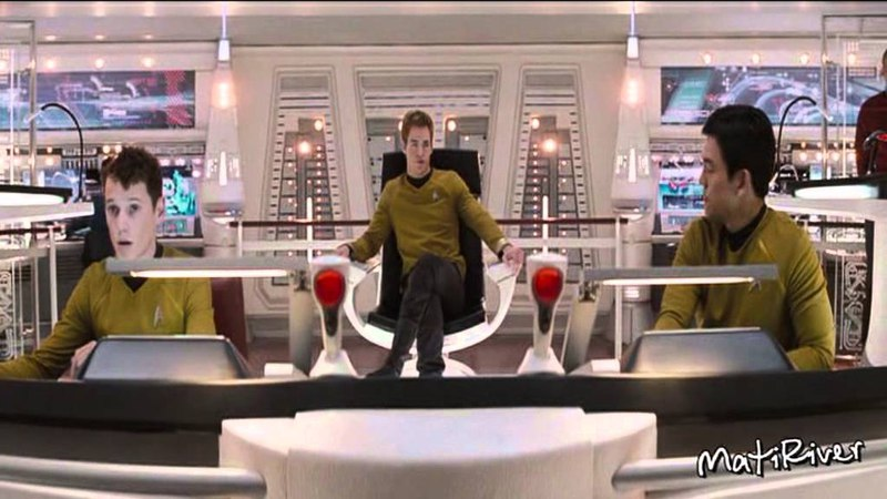 Star Trek | Kirk/Spock | Вселенная Бесконечна (Eng sub)