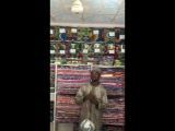 Cloth material market in Nigeria kano city