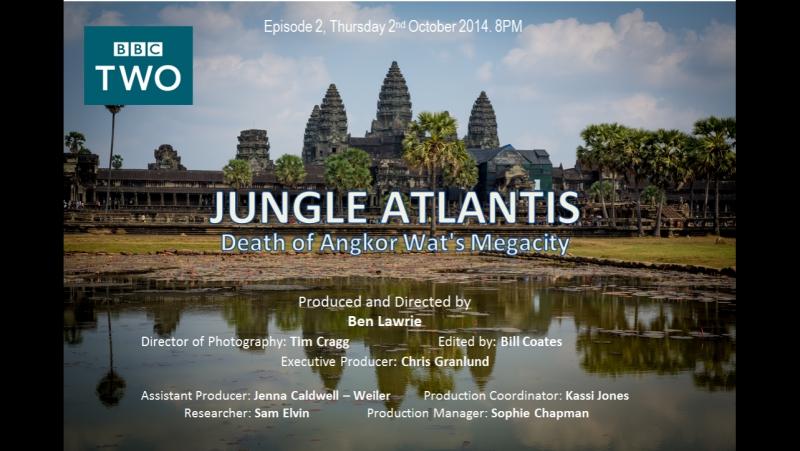 Атлантида в джунглях: Ангкор Ват - сокрытый мегаполис (1 серия / 2014)