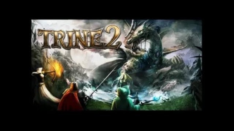Trine 2: Goblin Menace - прохождение16 - В чреве червя