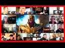 Avengers Infinity War Official Trailer Reaction Mashup