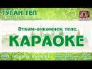 Караоке Туган тел Татар халык жыры Новая версия KaraTatTv