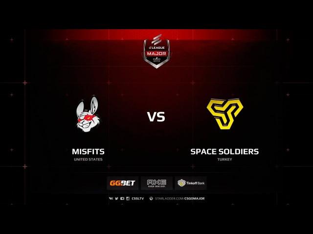 Misfits vs. Space Soldiers @ de_train