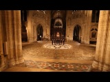 'Es ist ein Ros' entsprungen' sung by The Gesualdo Six in the magnificent Ely Cathedral
