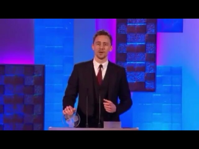 """The Fashion of Tom Hiddleston on Instagram """"March 12, 2013 TomHiddleston won the Times BreakthroughAward at the South Bank Sky Arts Awards and ..."""