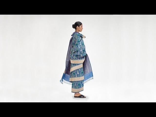 How To Drape a Sari: No. 38 Ranchi Saiko Drape - Jharkhand, India