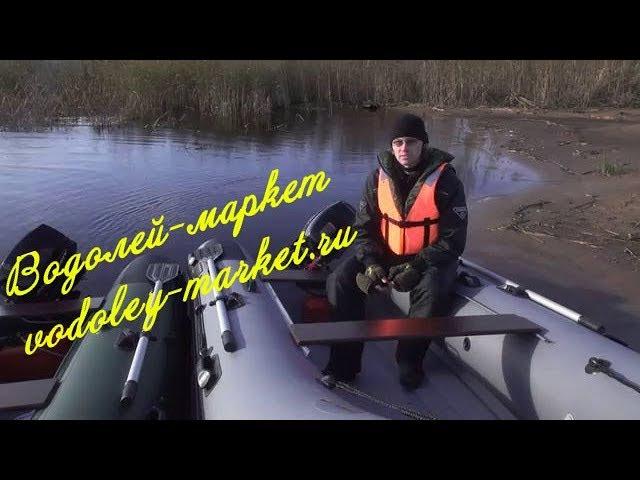 Новые лодки РИБ Навигатор от НПО Наши лодки - Обзор на воде