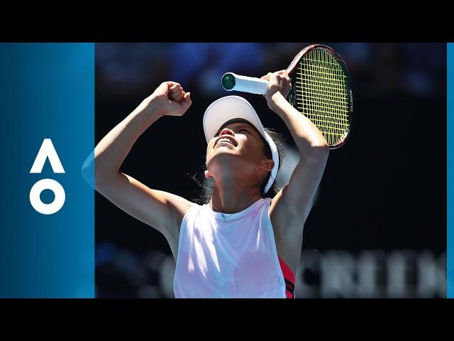Garbińe Muguruza v Su-Wei Hsieh match highlights (2R) | Australian Open 2018