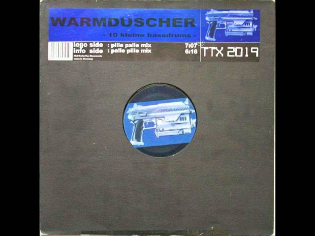 Warmduscher - 10 Kleine Bassdrums (Pille Palle Mix)
