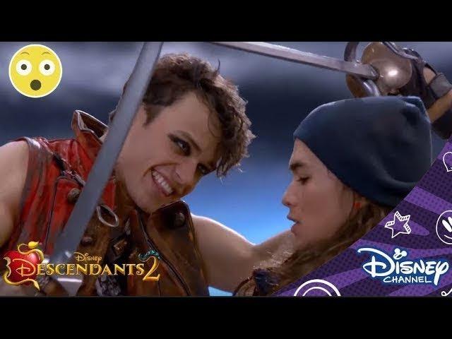 Combat contre les pirates Descendants 2 Disney Channel BE