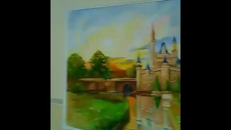"""Galina Divia on Instagram: """"Роспись на стене в Детском клубе закончена. Если у Вас возникнет желание нарисовать такой пейзаж в ашем ресторане или к..."""
