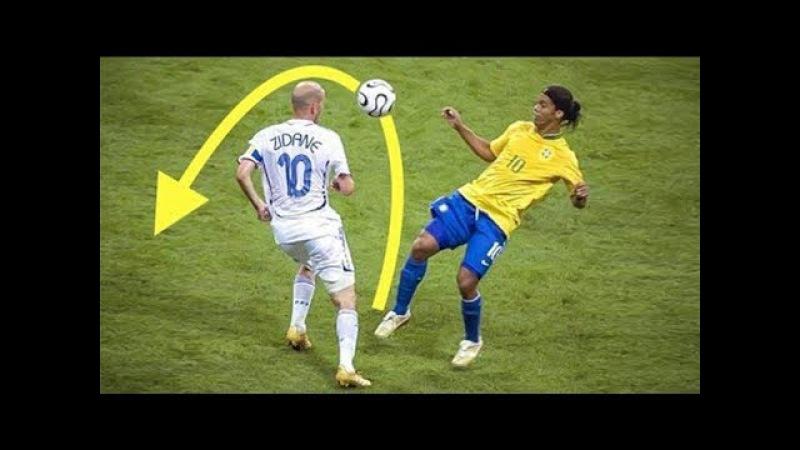 Только РОНАЛЬДИНЬО мог делать ЭТО! Топ 10 навыков/финтов в футболе
