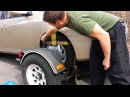 How to tow a car with a tow dolly