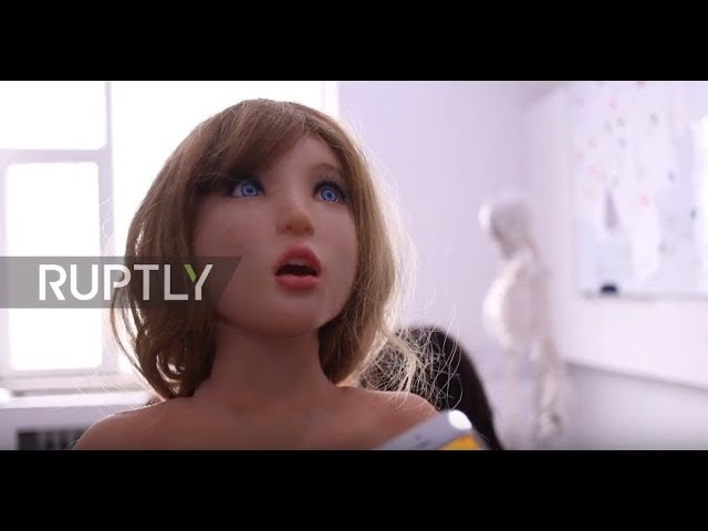 This SEX ROBOT can laugh at your jokes and wash your dishes too