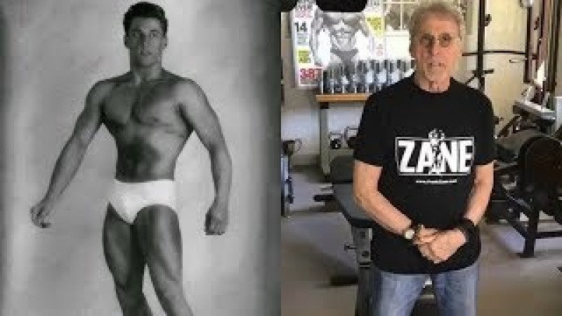 Frank Zane transformation from 18 to 75 years old