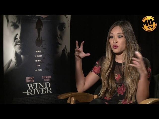 Интервью для портала «MadeinHollywoodTV» в рамках промоушена картины «Ветреная река» | 2017 год