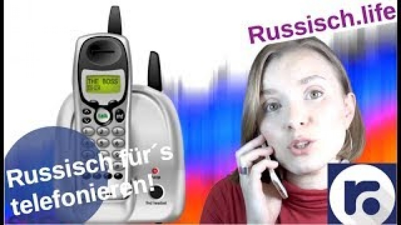 Russisch fürs telefonieren!